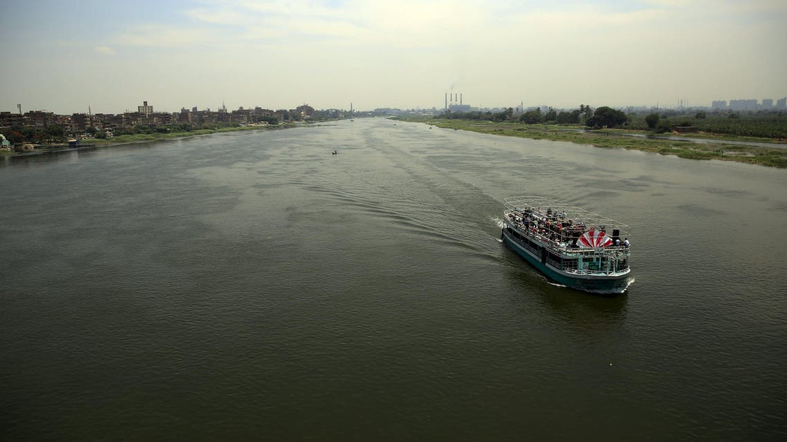 A boat transports people along the river Nile in Cairo. (Reuters)