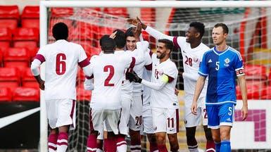 منتخب قطر يقلب خسارته إلى فوز على الصين