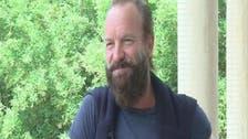 Sting tells Al Arabiya: 'Arabs deserve to live in peace'