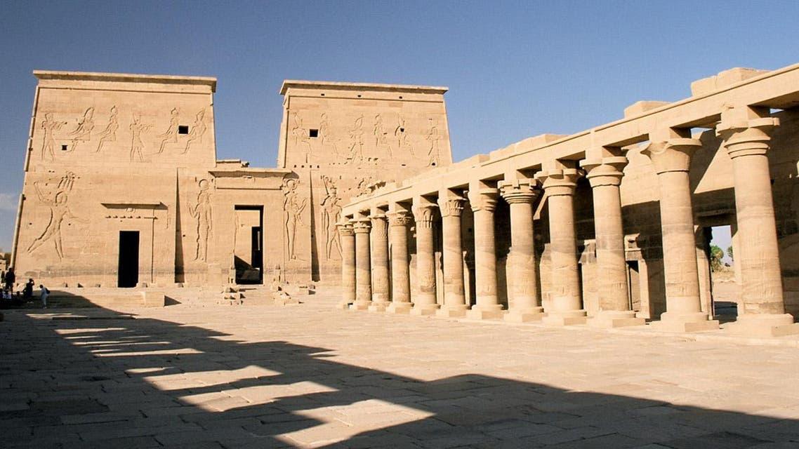 معبد فيلة أسوان مصر آثار فراعنة