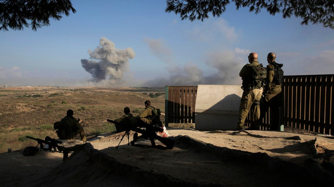 Rocket fire has mostly subsided since last summer's war between Hamas and Israel. AP