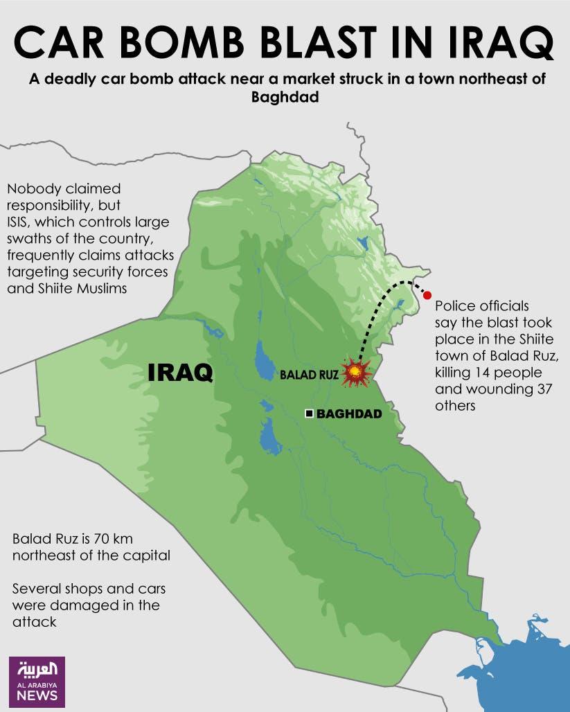 Infographic: Car bomb blast in Iraq