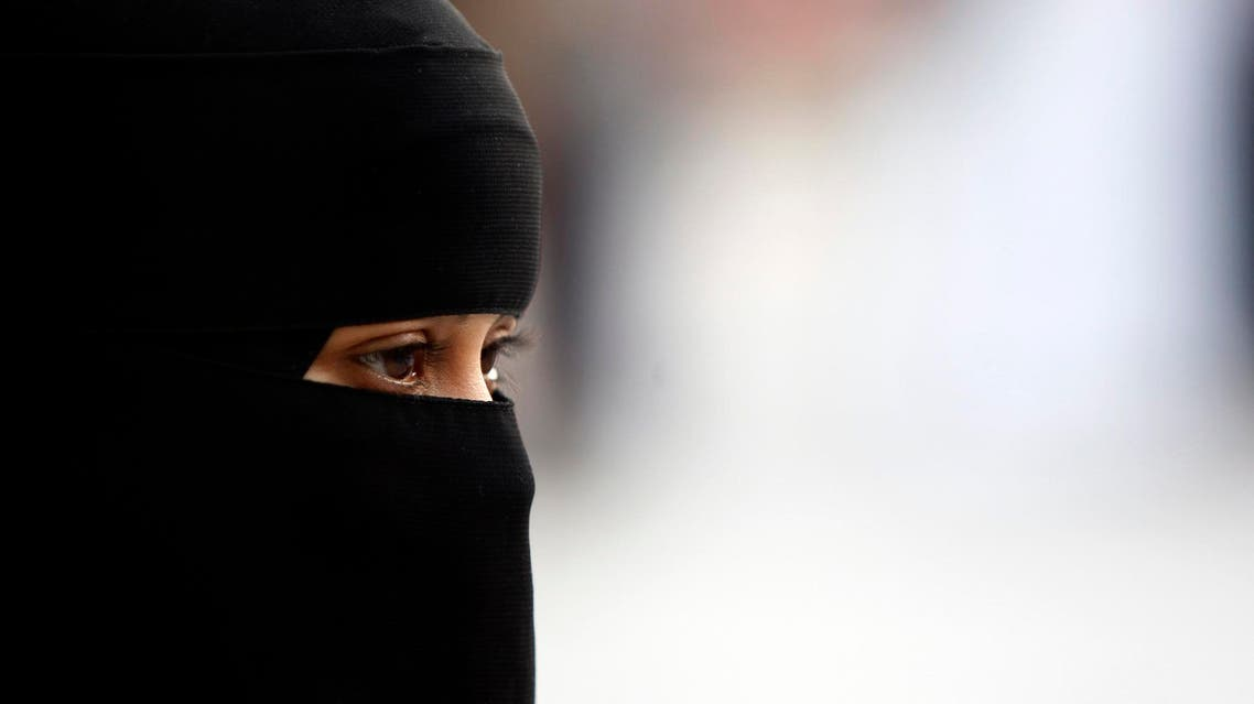 Saudi woman AP
