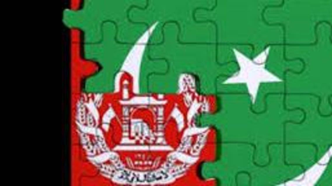 پرچم افغانستان و پاکستان