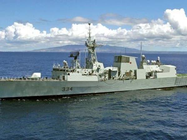 الحرس الثوري ينشر مكالمته مع السفينة الحربية البريطانية