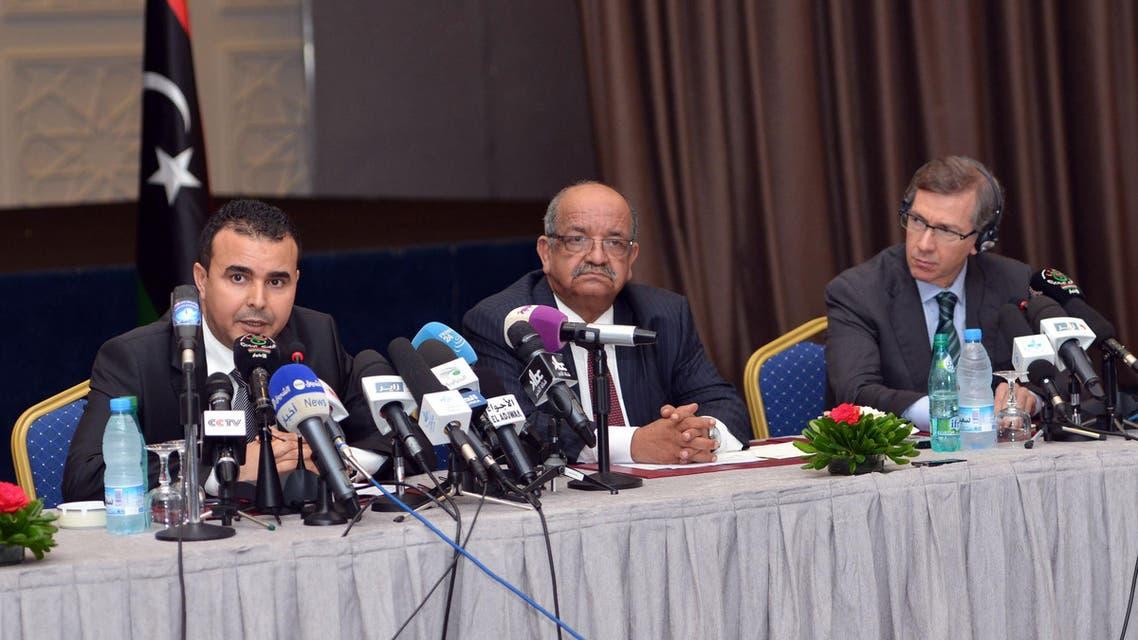 المفاوضات الليبية في الصريخات