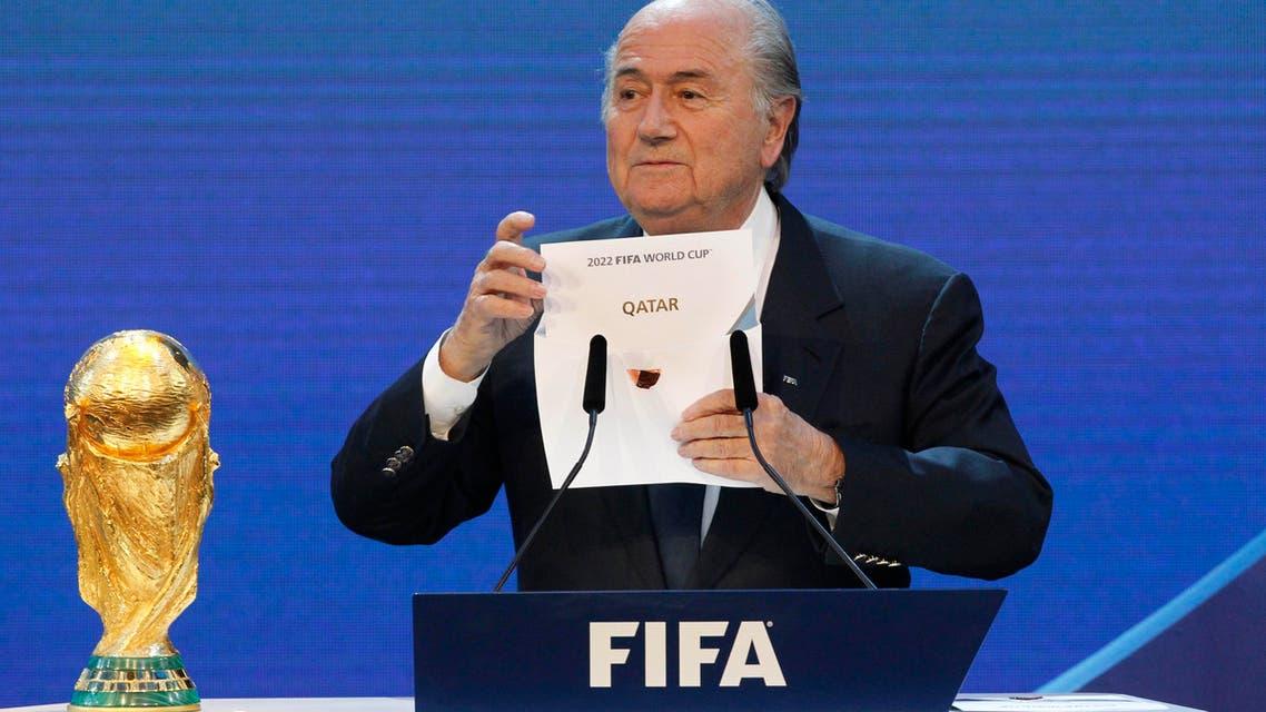 Blatter Qatar AP