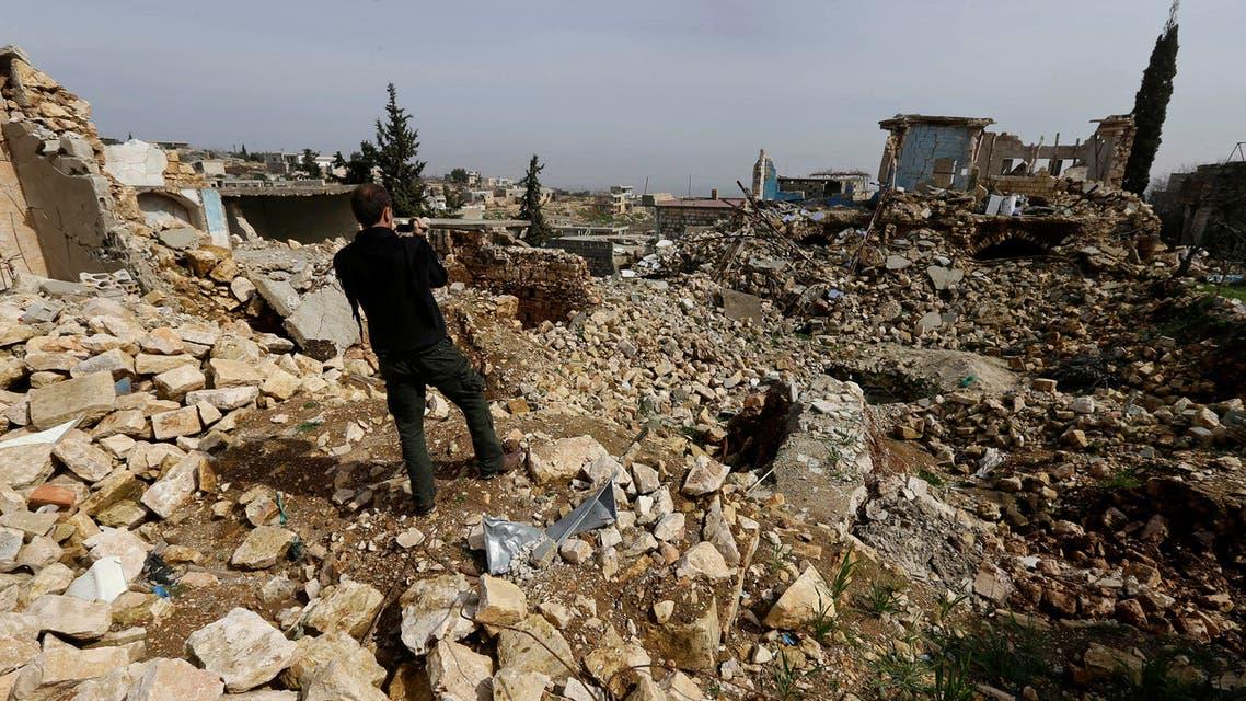 Idlib airstrikes AP