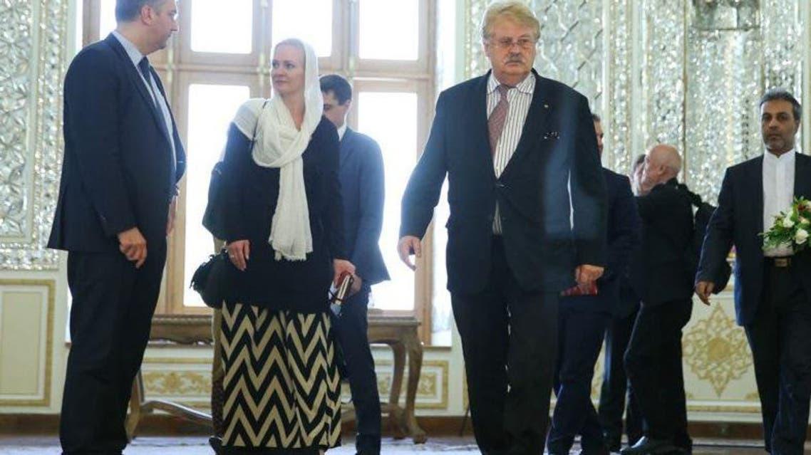 وفد البرلمان الأروبي في طهران