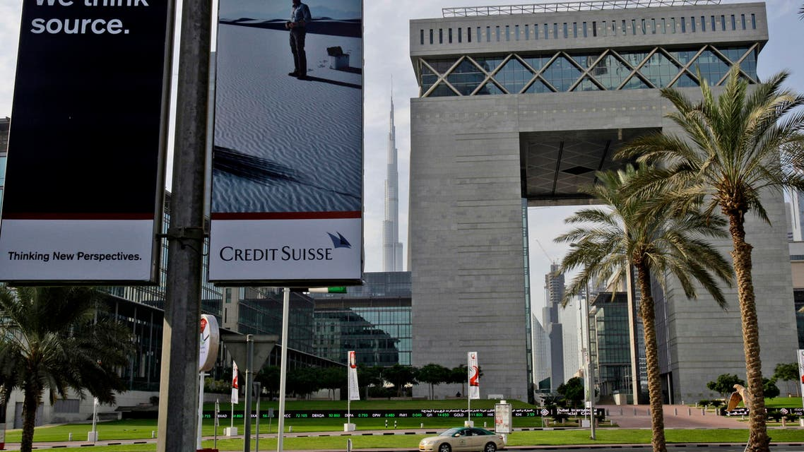 The Gate building, right, of Dubai International Financial Center, DIFC, remains closed today due to Eid al-adha holidays in Dubai, United Arab Emirates, Saturday, Nov. 28, 2009. European stock markets rebounded Friday after Wall Street didn't fall as much as feared on the news that Dubai is having trouble handling its debt. (AP Photo/Kamran Jebreili)