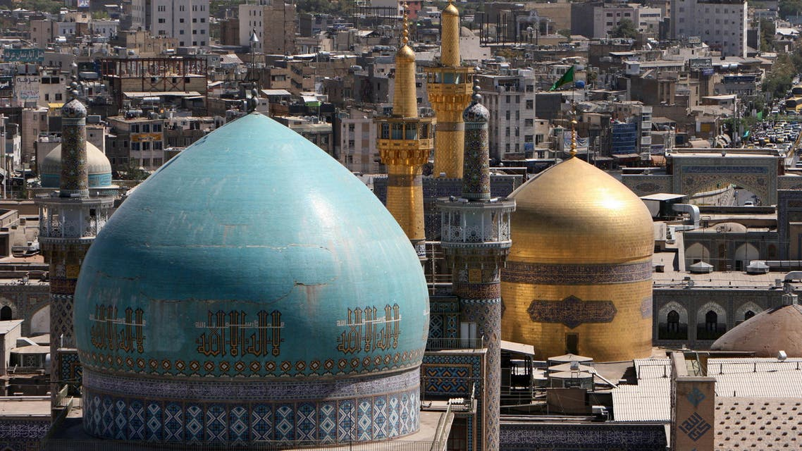 The Golden dome of the mausoleum of Imam Reza the 8th Shiite Muslim's Imam and grandson of the Prophet Mohammad is seen in Mashhad, 900 km (540 miles) in northeastern of Tehran, Iran, Monday, Aug. 11, 2008. (AP)
