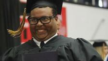 Man posts his graduation photo, becomes Internet meme