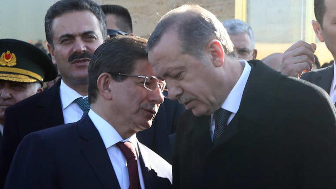أردوغان واوغلو
