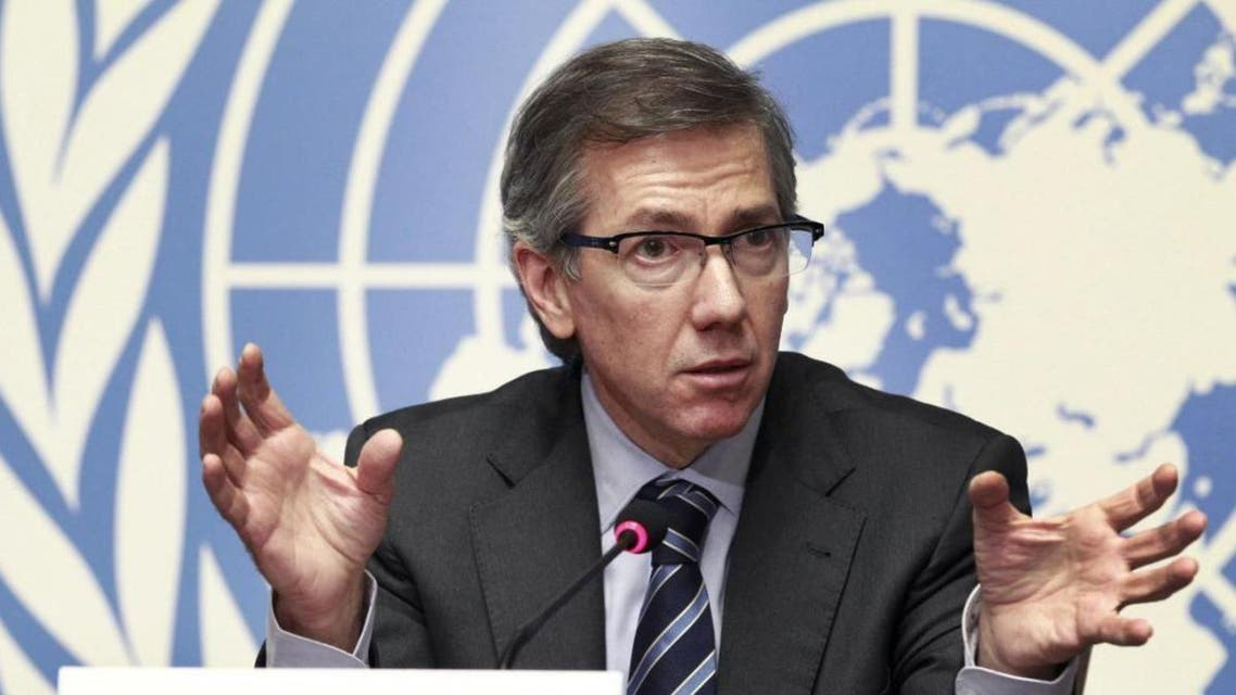 U.N. representative to Libya urged the Libyans to approve the fourth version of the draft proposal. (Reuters)