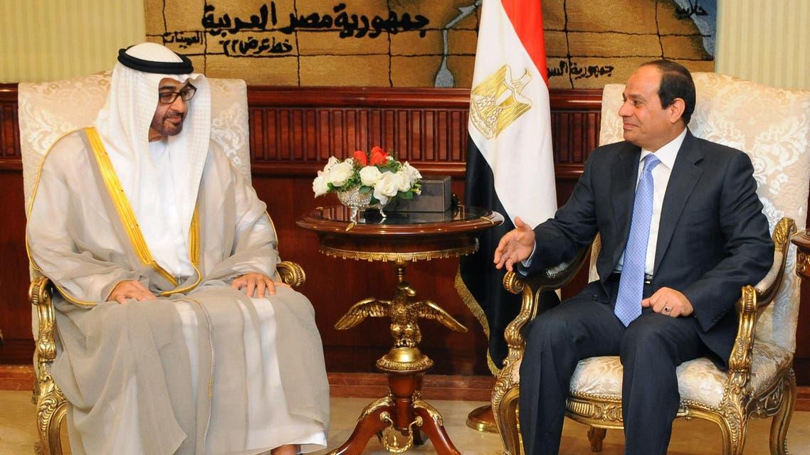السيسي يستقبل محمد بن زايد