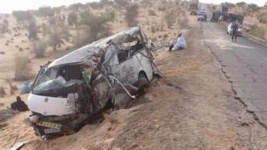 وفاة 11 شخصا بسبب حادث تصادم في موريتانيا