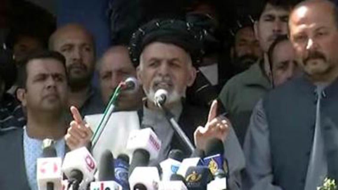 Ghani in Kandahar