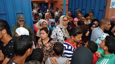 صور.. احتجاجات على أول تسريب للامتحانات بالمغرب