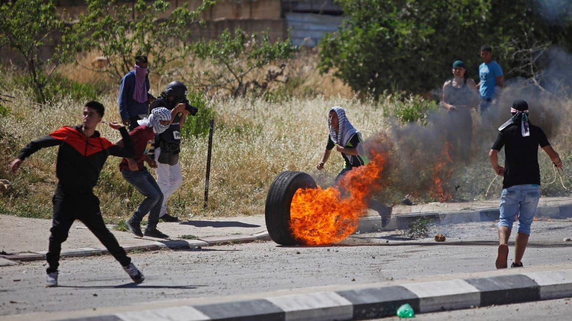 Palestinians clash with Israeli troops. (File Photo: AP)