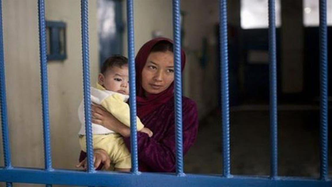 أطفال مسجونون في ايران