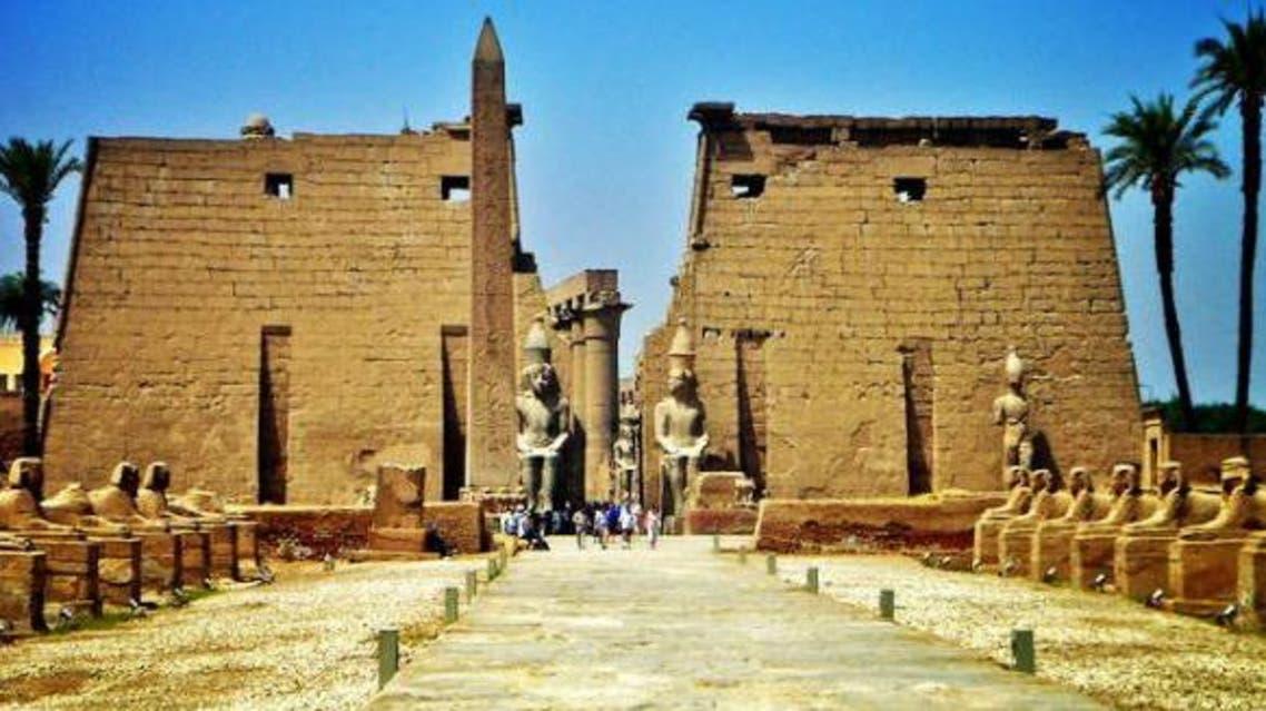 معبد الكرنك الحدث