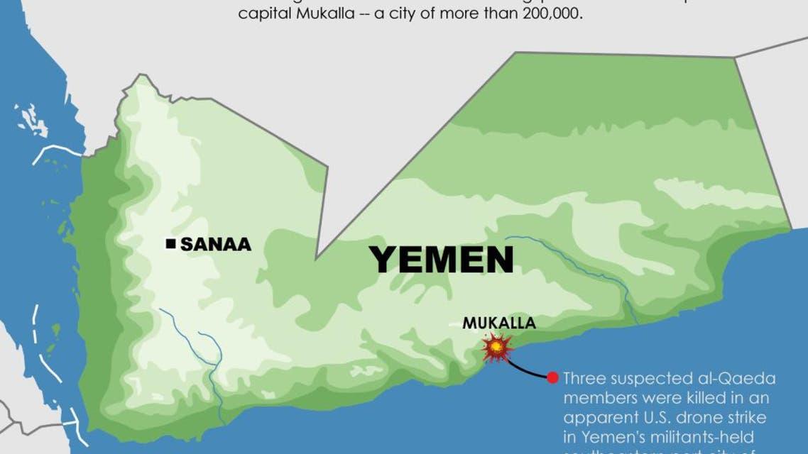 Infographic: Drone strike in Yemen
