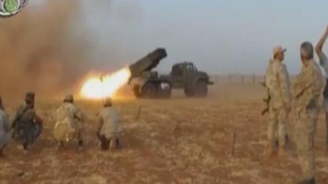 THUMBNAIL_ المعارضة السورية تسيطر على أجزاء من مطار الثعلة