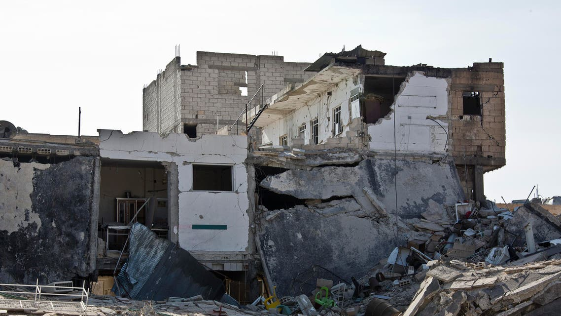 This Nov. 19, 2014 photo shows what remains of Kobani, Syria, after fighting between Islamic State militants and Kurdish fighters and coalition airstrikes. (File Photo: AP)