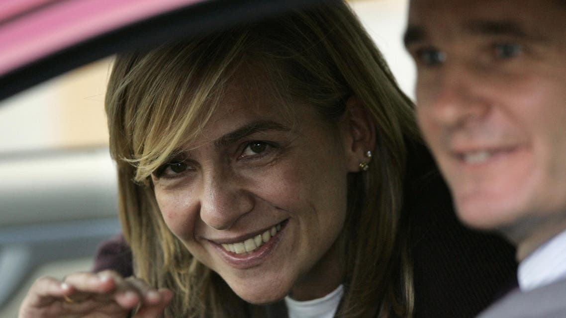 Princess Cristina,49, was given the title when she married her husband  in 1997. (File: AP)