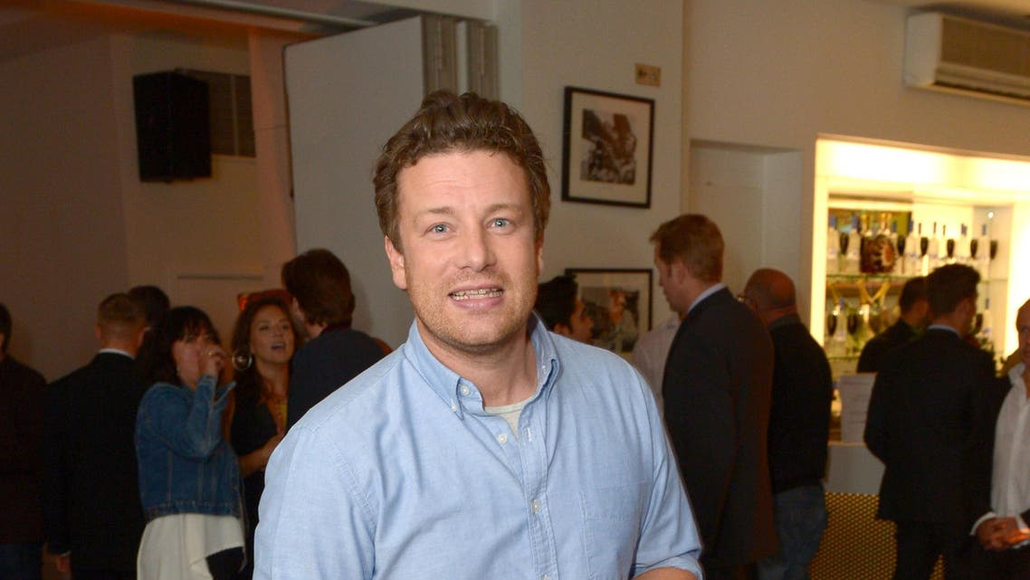 Jamie Oliver is seen at UK VIP Screening of 'Sunshine On Leith', on Monday, Sept, 23rd, 2013 in London. (File Photo: AP)