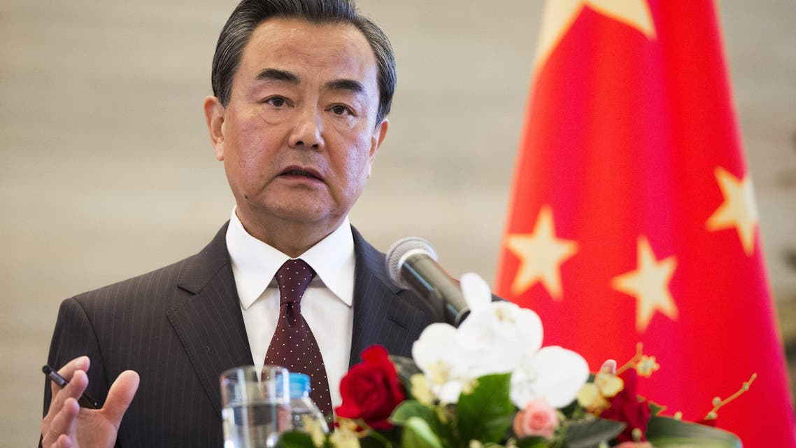 Chinese Foreign Minister Wang Yi speaks during a joint press conference following meetings with U.S. Secretary of State John Kerry at the Ministry of Foreign Affairs in Beijing, May 16, 2015. (File Photo: AP)