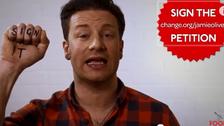 British chef Jamie Oliver takes obesity fight online