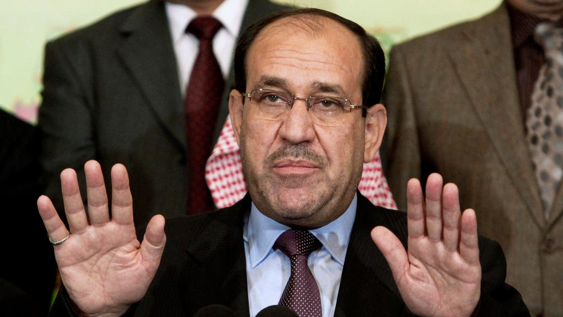 Maliki was prime minister when the Islamic State of Iraq and Syria (ISIS) militants group began a brutally effective offensive last year. (File: AP)
