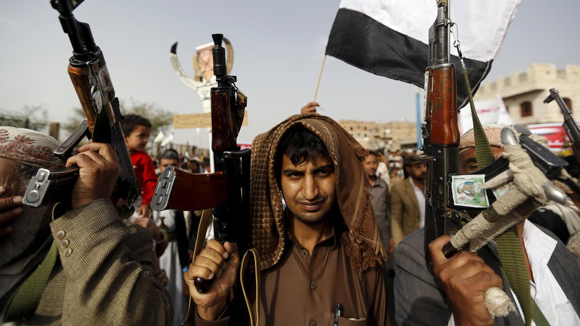 Houthi fighters reuters