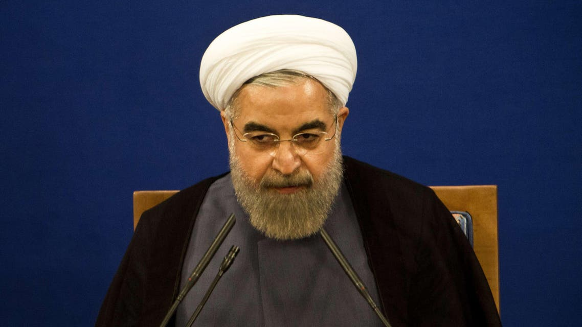 Iranian President Hassan Rowhani listens during his press conference in Tehran on June 13, 2015. (File: AFP)