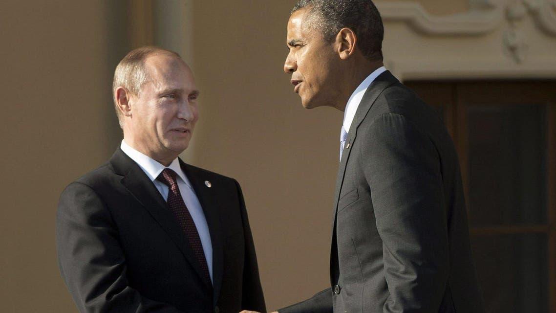 الرئيس بوتين والرئيس أوباما