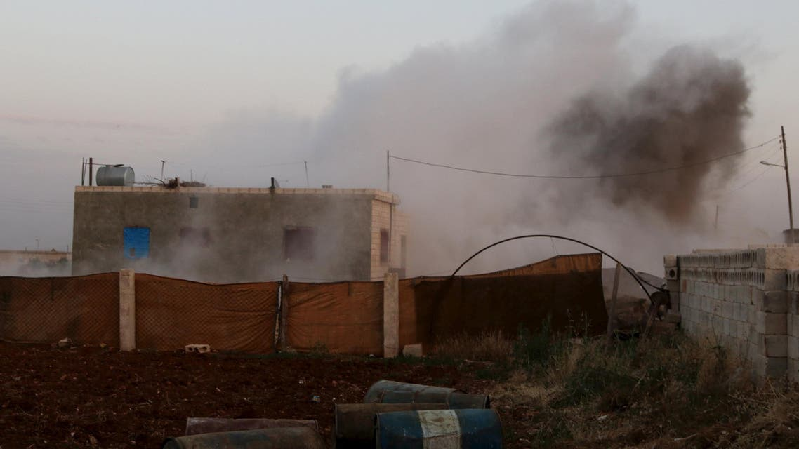 """آثار الاشتباكات بين المعارضة و""""داعش"""" في حلب"""