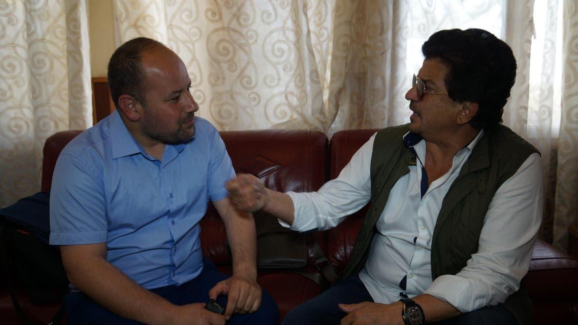 وليد توفيق مع مراسل العربية.نت