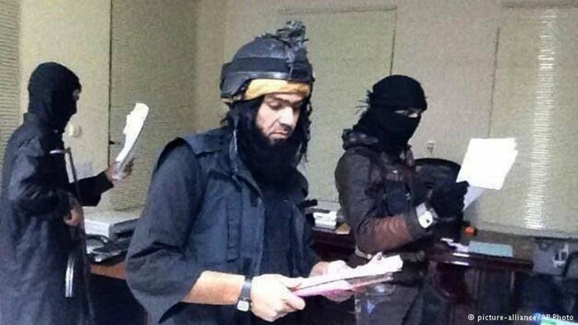 مسؤول من داعش  يصدر بيان