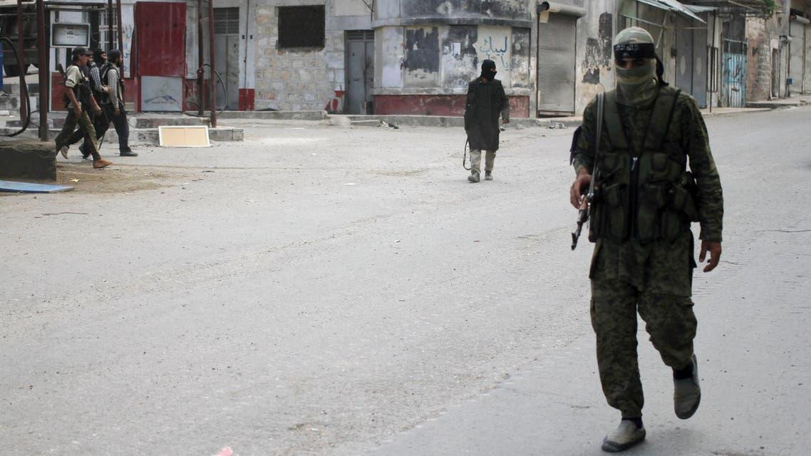 """عناصر من """"جبهة النصرة"""" في ادلب"""