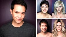 He's keeping up: Make-up magician's Kardashian pictures go viral