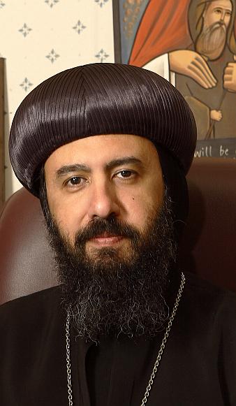 Bishop of the Coptic Orthodox Church in the UK, Bishop Angaelos
