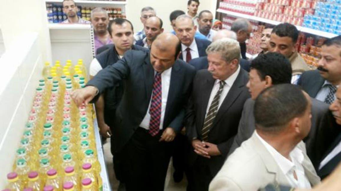 وزير التموين المصري خالد حنفي سلع رمضان