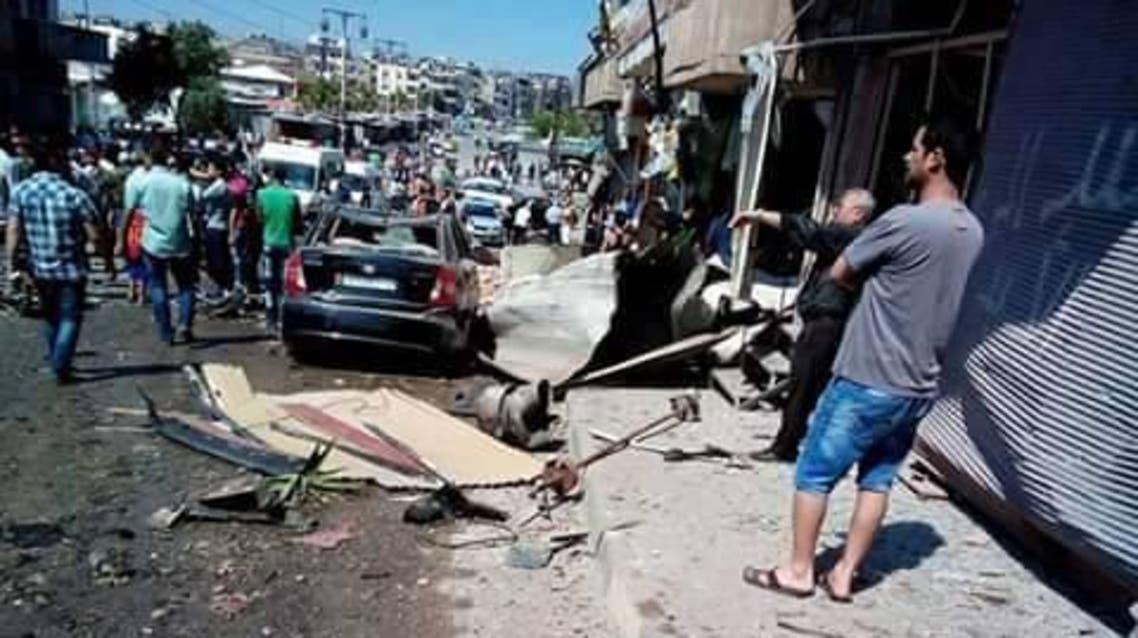 سوريا..انفجار سيارتين في حيين للموالاة في #حمص