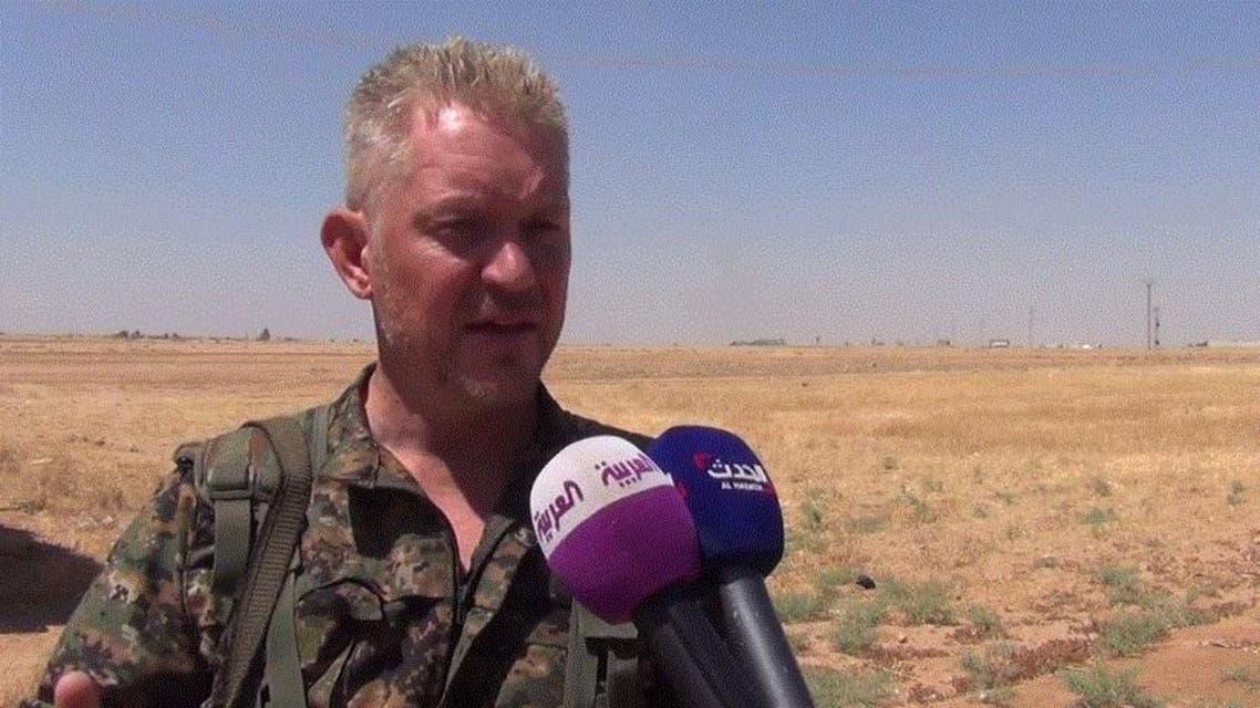 An exclusive six-minute interview with Al Arabiya News Channel this week in the Syrian battlefield. (Al Arabiya)