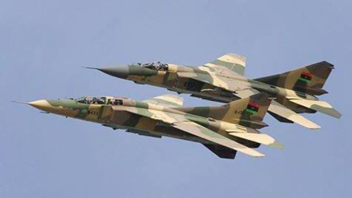 طائرات الجيش الليبي