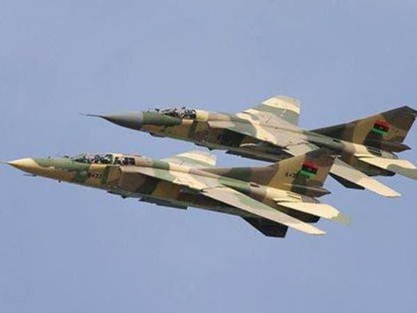 """الجيش الوطني ينفذ ضربات جوية على """"الهلال النفطي"""""""