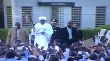 الرئيس السوداني يصل #الخرطوم قادما من جوهانسبرغ