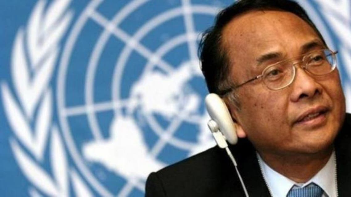It was the second time Makarim Wibisono, the U.N.'s special rapporteur on human rights in the occupied Palestinian territories, had been barred entry. (File photo: Reuters)