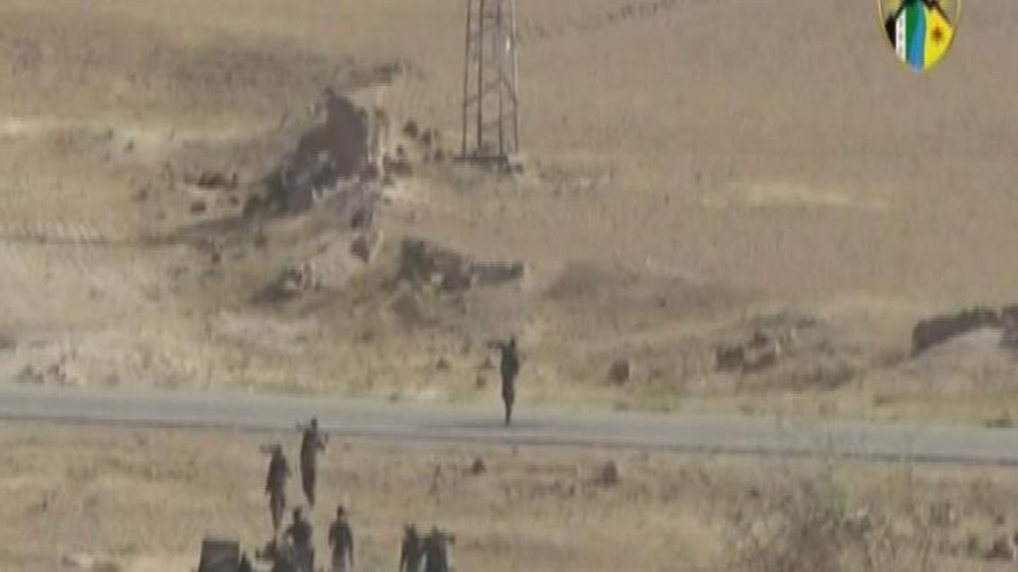 THUMBNAIL_ المقاتلون الأكراد يسيطرون بشكل شبه كامل على تل أبيض